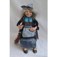 Авторская интерьерная кукла Баба Яга