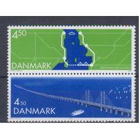 [2010] Дания 2000. Мост. MNH