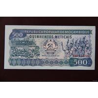 Мозамбик 500 метикал 1989 UNC