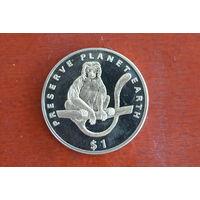 Эритрея 1 доллар 1994