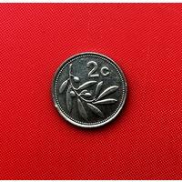 55-29 Мальта, 2 цента 1995 г.