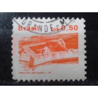 Бразилия 1986 Стандарт, архитектура 0,50