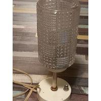 Лампа настольная из СССР