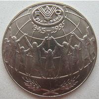 Андорра 25 сантим 1995 г. ФАО
