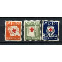 Финляндия - 1930 - Красный крест - [Mi. 158-160] - полная серия - 3 марки. MNH.