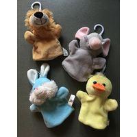 Кукольный театр лев утка мышь заяц