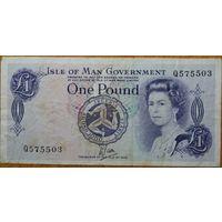 Остров Мэн 1 фунт 1972г.