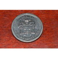 Ямайка 5 долларов 1995