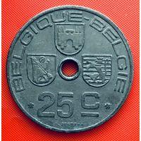 12-19 Бельгия, 25 сантимов 1946 г. Французский тип