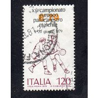 Италия. МИ-1163. Чемпионат Европы по баскетболу. Рим. 1979