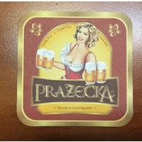 Подставка под пиво Prazecka /Чехия, Россия/