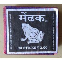 Cпички. Индия. деревянный коробок #8