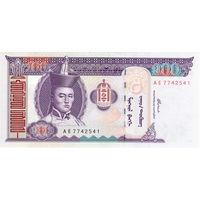 Монголия, 100 тугриков, 2000 г., UNC