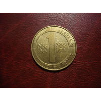 1 марка 1993 год Финляндия