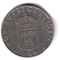 Швеция. 1 крона. 1981 г.