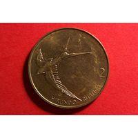 2 толара 2001. Словения.
