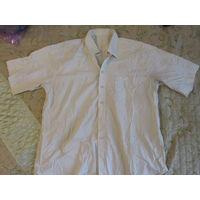 Рубашка мужская 45/46-182/184 бледно голубая