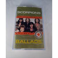 SCORPIONS - Ballads. Кассета