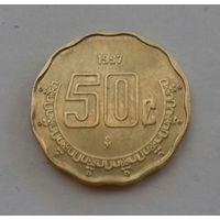 50 сентаво, Мексика 1997 г.