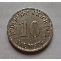10 пфеннигов, Германия 1912 A
