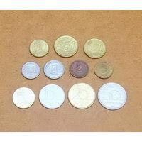Подборка европейских монет 1971-2015 гг. Евросоюз, Венгрия, Германия, Польша