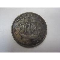 Half Penny 1945 (Великобритания) Георг VI