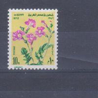 [2369] Египет 1972. Флора.Цветы. Одиночный выпуск MNH