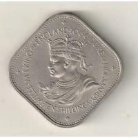 Гернси 10 шиллинг 1966
