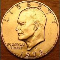 1 доллар 1972г. Доллар Эйзенхауэра.
