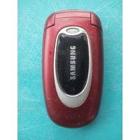 Мобильный телефон Samsung SBH-X480 на запчасти или под восстановление.