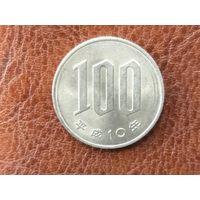100 йен 1998 Япония