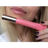 Блеск для губ Clarins Natural Lip Perfector 01rose shimmer