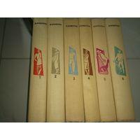 Вениамин Каверин собрание сочинений в 6 томах 1963 год. Государственное издательство художественной литературы