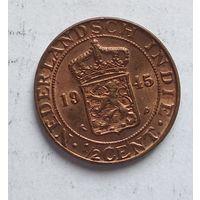Голландская Ост-Индия 1/2 цента, 1945 3-5-10