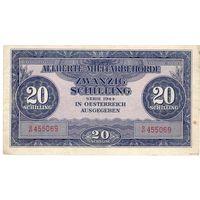 Союзная оккупация Австрии, 20 шиллингов, 1944 г.