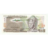 Гватемала 0,5 кетцеля 1982 года. Нечастая! Состояние UNC!