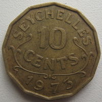 Сейшельские острова (Сейшелы) 10 центов 1973 г. (d)