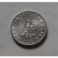 1 грош, Польша 1949 г.