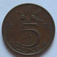Нидерланды, 5 центов 1976 г