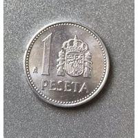 Испания 1 песета 1987 г.