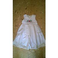 Платье сарафан для девочки на 3-5 лет