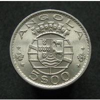 Порт. Ангола 5 эскудо 1972
