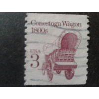 США 1988 повозка переселенца