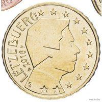 10 евроцентов 2016 Люксембург UNC из ролла