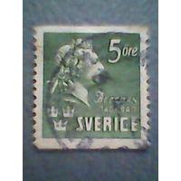 Швеция. Стандарт. 1940г. гашеная