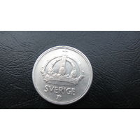 Швеция 25 эре 1945 серебро