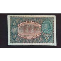 10 марок 1919 года. Польша. Распродажа