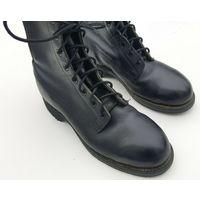 Addison мужские черные кожаные военного стиля ботинки