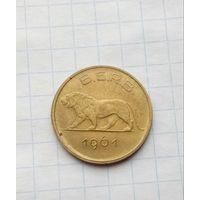 Руанда -Бурунди.1 франк .1961г