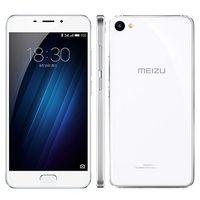 MEIZU U20, 5,5 Android, Mediatek MT6755M Helio P10, ОЗУ 2 ГБ, флэш-память 16 ГБ, карты памяти, камера 13 Мп, 8 ядер, хороший аккумулятор 3260 мАч, 2 SIM, цвет белый лакированный, отличное состояние,